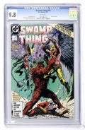 Modern Age (1980-Present):Horror, Swamp Thing (Saga of the...) #58 (DC, 1987) CGC NM/MT 9.8 Whitepages....