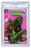 Modern Age (1980-Present):Horror, Swamp Thing (Saga of the...) #43 (DC, 1985) CGC NM/MT 9.8 Whitepages....
