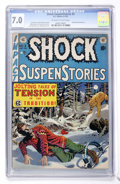 Golden Age (1938-1955):Horror, Shock SuspenStories #3 (EC, 1952) CGC FN/VF 7.0 Off-white to whitepages....