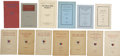 Books:Pamphlets & Tracts, [George A. Custer] Thirteen Pamphlets.... (Total: 13 Items)