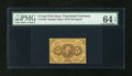 Fractional Currency:First Issue, Fr. 1230 5c First Issue PMG Choice Uncirculated 64 EPQ....