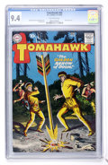 Silver Age (1956-1969):Western, Tomahawk #65 (DC, 1959) CGC NM 9.4 Off-white pages....