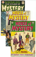 Silver Age (1956-1969):Horror, House of Mystery Group (DC, 1954-72) Condition: Average FN+....(Total: 8 Comic Books)