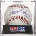 "Autographs:Baseballs, Johnny Bench ""HOF 89"" Single Signed Baseball, PSA Mint+ 9.5...."