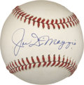 Autographs:Baseballs, Joe DiMaggio Single Signed Baseball....