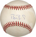 Autographs:Baseballs, Barry Bonds Single Signed Baseball....