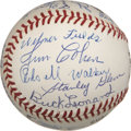 Autographs:Baseballs, Negro League Stars Multi-Signed Baseball....