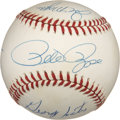 """Baseball Collectibles:Others, The """"Big Red Machine"""" Multi-Signed Baseball...."""