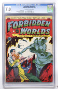 Golden Age (1938-1955):Science Fiction, Forbidden Worlds #1 (ACG, 1951) CGC FN/VF 7.0 Off-white to whitepages. ...