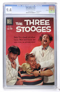 Silver Age (1956-1969):Humor, Four Color #1127 Three Stooges - File Copy (Dell, 1960) CGC NM 9.4 Off-white to white pages. ...