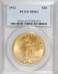 Saint-Gaudens Double Eagles: , 1912 $20 MS63 PCGS. PCGS Population (883/359). NGC Census:(298/180). Mintage: 149,700. Numismedia Wsl. Price for NGC/PCGS ...
