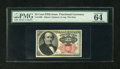 Fractional Currency:Fifth Issue, Fr. 1308 25c Fifth Issue PMG Choice Uncirculated 64 EPQ....