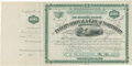 Transportation:Railroad, International & Great Northern Railroad Company StockCertificate, Texas, 1877. ...