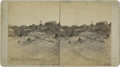 Western Expansion:Goldrush, Stereoview of Little Pittsburg Mine, Leadville, Colorado, circa1880s. ...