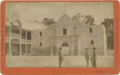 Photography:Cabinet Photos, Imperial Cabinet Card Photograph of the Alamo, San Antonio, Texas,circa early 1880s....