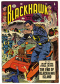 Golden Age (1938-1955):War, Blackhawk #84 (Quality, 1954) Condition: VF+....