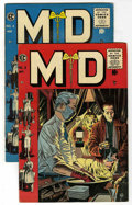 Golden Age (1938-1955):Miscellaneous, M.D. #3 and 4 Group (EC, 1955) Condition: Average VF-.... (Total: 2)