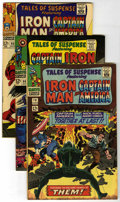Silver Age (1956-1969):Superhero, Tales of Suspense #78, 94, and 95 Group (Marvel, 1966-67) Condition: Average VF+.... (Total: 3)