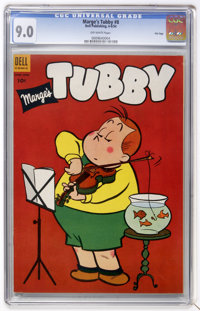Marge's Tubby #8 File Copy (Dell, 1954) CGC VF/NM 9.0 Off-white pages