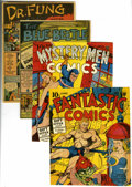 Golden Age (1938-1955):Miscellaneous, Golden Age Covers and Interior Pages Group (Various Publishers).... (Total: 19)