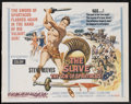 "Movie Posters:Adventure, The Slave (MGM, 1963). Half Sheet (22"" X 28""). Adventure. StarringSteve Reeves, Jacques Sernas, Gianna Maria Canale, Claudi..."