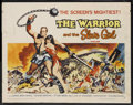 "Movie Posters:Adventure, The Warrior and the Slave Girl (Columbia, 1959). Half Sheet (22"" X28"") Style B. Adventure. Starring Gianna Maria Canale, Ge..."