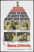 """Movie Posters:Drama, Shock Corridor (Allied Artists, 1963). One Sheet (27"""" X 41""""). Drama. Starring Peter Breck, Constance Towers, Gene Evans, Jam..."""