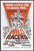 "Movie Posters:Sports, The Wild Racers (American International, 1968). One Sheet (27"" X 41""). Drama. Starring Fabian, Mimsy Farmer, David Landers, ..."