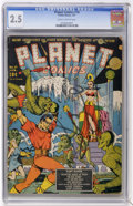 Golden Age (1938-1955):Science Fiction, Planet Comics #10 (Fiction House, 1941) CGC GD+ 2.5 Slightlybrittle pages.... (Total: 0)