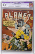 Golden Age (1938-1955):Science Fiction, Planet Comics #13 (Fiction House, 1941) CGC Apparent VG 4.0 Creamto off-white pages.... (Total: 0)