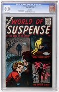 Silver Age (1956-1969):Mystery, World of Suspense #5 (Atlas, 1956) CGC VF 8.0 White pages....