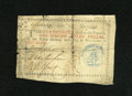 Colonial Notes:Georgia, Georgia 1776 $1 Blue Seal Fine....