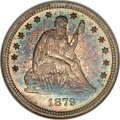 Proof Seated Quarters, 1879 25C PR66 NGC. CAC....