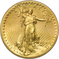 High Relief Double Eagles, 1907 $20 High Relief, Flat Rim--Improperly Cleaned--NCS. Unc Details....