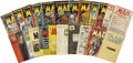 Golden Age (1938-1955):Humor, Mad #1-23 Complete Comic Book Group (EC, 1952-55).... (Total: 23 Comic Books)