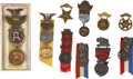 Military & Patriotic:Civil War, Collection of Ten Buffalo, New York GAR Badges Circa 1897-1934.... (Total: 10 Items)
