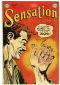 Golden Age (1938-1955):Horror, Sensation Comics #109 (DC, 1952) Condition: FN-....