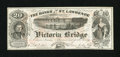 Canadian Currency: , Montreal, PQ- Banks of the St. Lawrence (Grand Trunk Railway) AdNote circa 1860s. ...