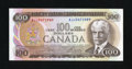 Canadian Currency: , Ottawa, BC- Bank of Canada $100 1975 Ch # BC-52b. ...