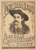 Books:Pamphlets & Tracts, Scarce, Unlisted Booklet: Lone Star Harry. AmericanRepresentative Scout (New York: Dick's Publishing House,circa...
