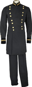 Military & Patriotic:Indian Wars, General Officer Uniform including Tunic, Trousers, and Chapeau,General C. W. Abbott, Jr....