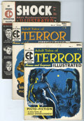 Magazines:Miscellaneous, EC Miscellaneous Horror Magazines Group (EC, 1955-56) Condition: Average VG+.... (Total: 7 Comic Books)