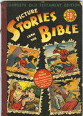Golden Age (1938-1955):Religious, Picture Stories from the Bible Complete Old Testament Edition (EC,1943) Condition: VG/FN....