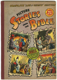 Picture Stories from the Bible Complete Life of Christ (EC, 1945) Condition: FN/VF
