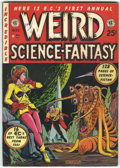 Golden Age (1938-1955):Science Fiction, Weird Science-Fantasy Annual #1 (EC, 1952) Condition: ApparentVF-....