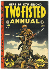 Two-Fisted Annual #2 (EC, 1953) Condition: FN+