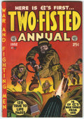 Golden Age (1938-1955):War, Two-Fisted Annual #1 (EC, 1952) Condition: Apparent FN+....