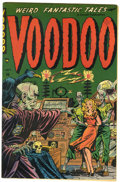 Golden Age (1938-1955):Horror, Voodoo #3 (Farrell, 1952) Condition: Apparent FN+....