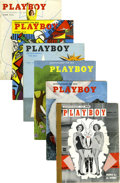 Magazines:Miscellaneous, Playboy Group of 47 (HMH Publishing, 1954-57)....