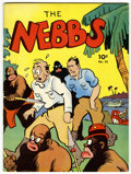 Magazines:Humor, Large Feature Comic (Series I) #23 The Nebbs (Dell, 1941)Condition: Apparent FN/VF....